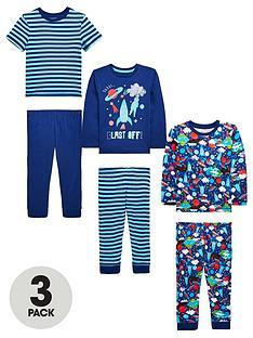 mini-v-by-very-boys-3-pack-space-rocket-pyjamas-blue-multi