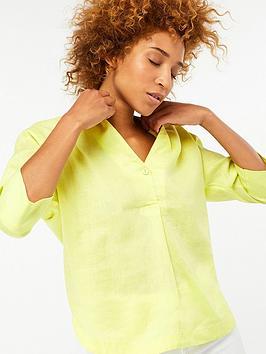 monsoon-grace-linen-t-shirt