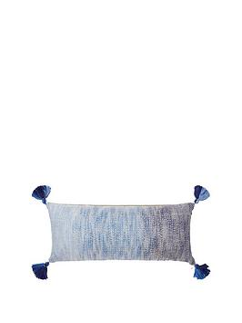 monsoon-blue-and-gold-ombre-cushion