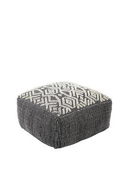 monsoon-geometric-floor-cushion