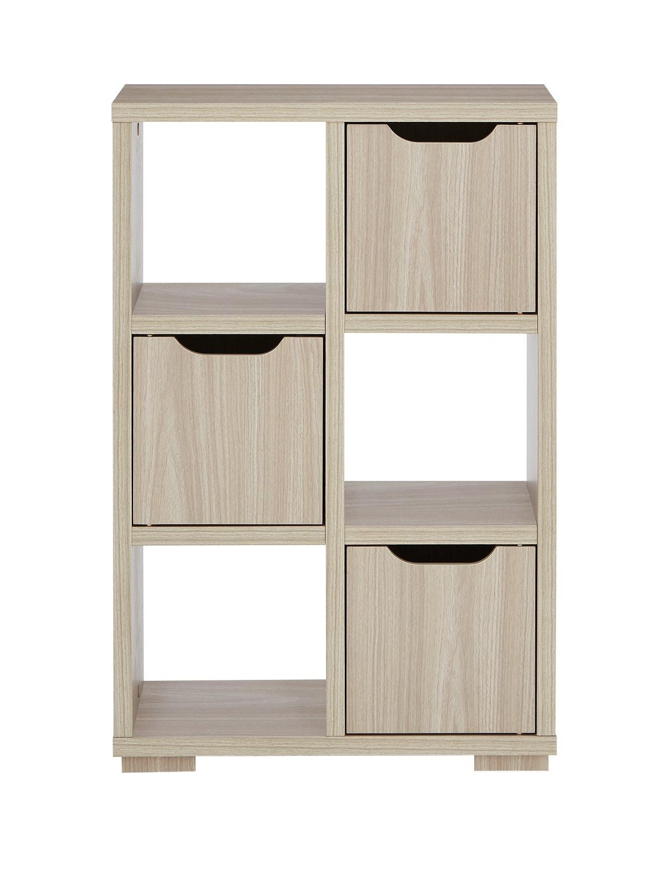 Fully Assembled Bookcase Home Furniture Diy Cube Petite