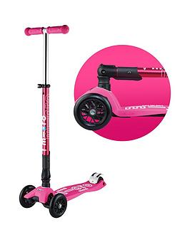 Micro Scooter Micro Scooter Foldable Maxi Micro Deluxe &Ndash; Pink Picture