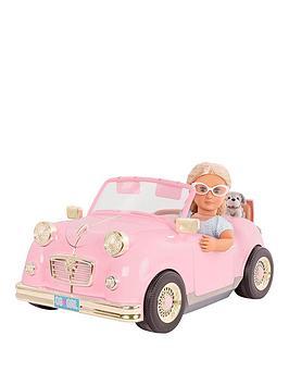 our-generation-glitter-girls-retro-car-for-18-inch-dolls