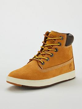 Timberland Timberland Davis Square 6 Inch Boots - Wheat Picture