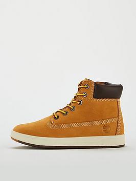 a0df6191d1f3a Timberland Davis Square 6 Inch Boots - Wheat | littlewoods.com