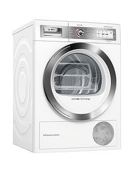 bosch-serie-8-wtyh6791gbnbsp9kgnbspself-cleaning-condensertrade-tumble-dryer-with-heat-pump-technology-white