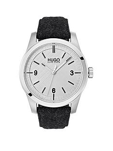 hugo-hugo-create-grey-3-hand-dial-with-grey-felt-strap-mens-watch