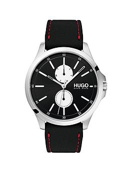 hugo-jump-black-multi-dial-with-black-rubber-strap-mens-watch