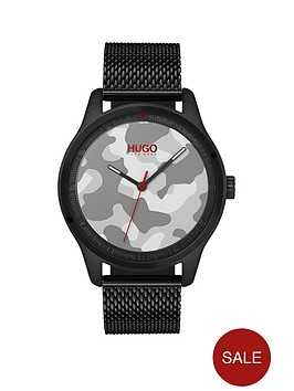hugo-hugo-move-grey-camo-3-hand-dial-with-black-ip-mesh-bracelet-mens-watch