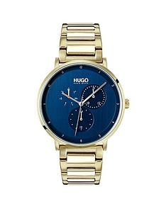 hugo-guide-blue-dial-mens-watch-with-ice-gold-bracelet-strap