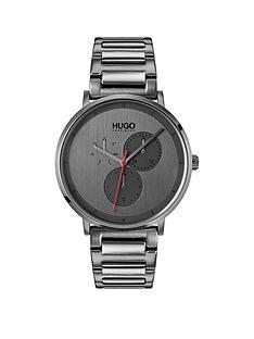 hugo-guide-grey-ip-stainless-steel-mens-watch