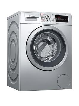Bosch   Serie 6 Wvg3047Sgb 7Kg Wash, 4Kg Dry, 1500 Spin Washer Dryer With Varioperfect&Trade; Technology - Silver