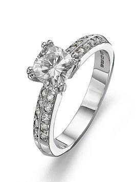 moissanite-18-carat-white-gold-100pt-equivalent-cushion-cut-ring