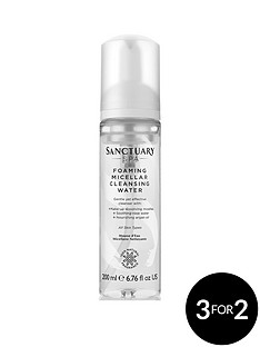 sanctuary-spa-sanctuary-foaming-micellar-cleansing-water-200ml