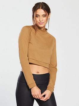 adidas-id-cropped-long-sleeve-tee-camel