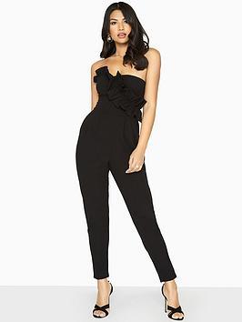 girls-on-film-frill-front-jumpsuit-blacknbsp