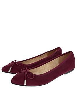 accessorize-harper-elasticated-pointed-flat-burgundy