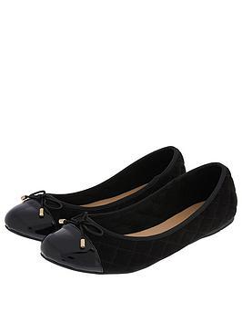 accessorize-coralie-quilted-ballerina-pumps-blacknbsp