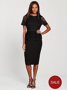 v-by-very-peplum-lace-ponte-bodycon-black