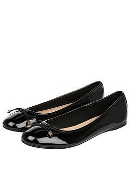 accessorize-coralie-basic-patentnbspballet-pumps-black