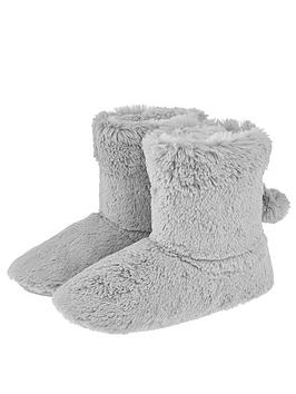 accessorize-faux-fur-slipper-boots-pink