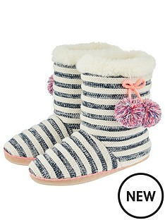 accessorize-accessorize-knitted-navy-striped-slipper-boot