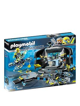 PLAYMOBIL Playmobil 9250 Top Agents Dr. Drone'S Command Base Picture