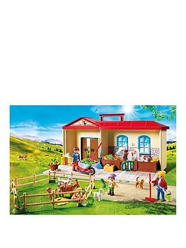 playmobil-playmobil-4897-takealong-country-farm-with-carry-handle-and-fold-out-stables