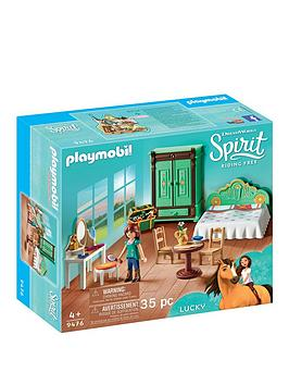 PLAYMOBIL Playmobil Dreamworks Spirit&Copy; 9476 Lucky'S Bedroom Picture