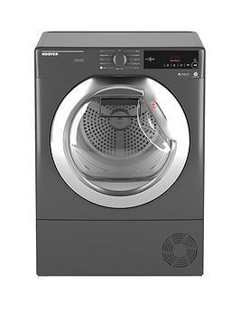 Hoover Hoover Dynamic Next Dxc10Tcer 10Kg Aquavision Condenser Tumble  ... Picture