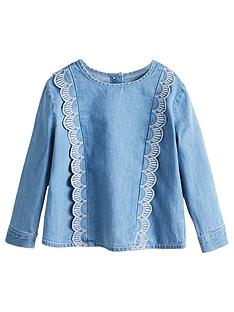mango-baby-girls-ruffle-denim-blouse
