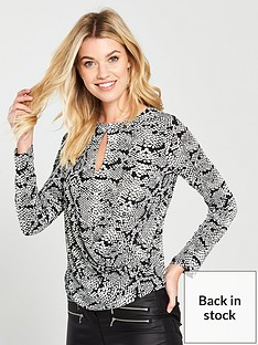 v-by-very-snake-key-whole-wrap-long-sleeve-top