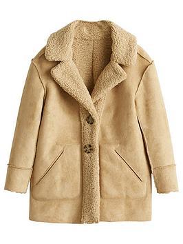 mango-girls-faux-shearling-coat