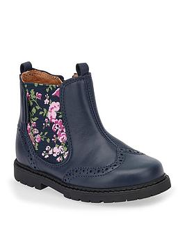 Start-Rite Start-Rite Chelsea Floral Girls Boot Picture