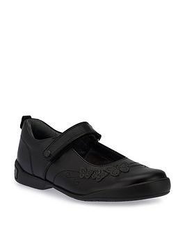 Start-Rite Start-Rite Pump Girls Shoes - Black Picture