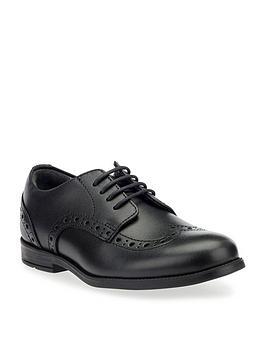 Start-Rite Start-Rite Brogue School Shoes - Black Picture