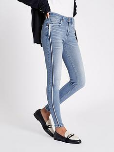river-island-river-island-amelie-side-stripe-skinny-jeans-light-blue