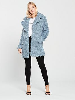 river-island-river-island-oversized-fluffy-coat-blue