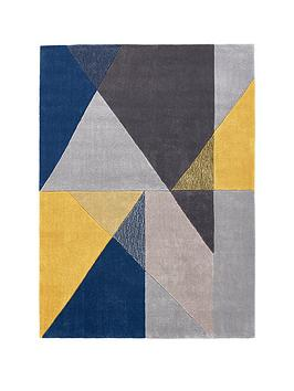 Design Matters Triangle Geo Rug