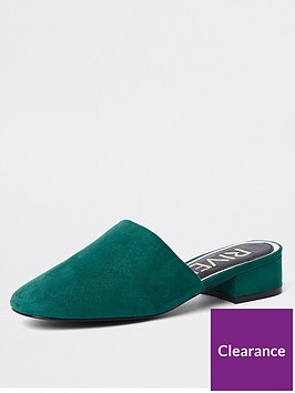 river-island-river-island-block-heel-backless-shoe-green