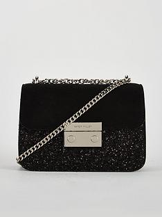 karen-millen-karen-millen-glitter-evening-bag-with-chain