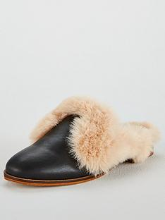 kg-kg-mason-faux-fur-low-heeled-backless-mule-shoe