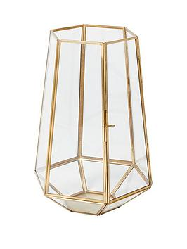 monsoon-large-gold-glass-lantern