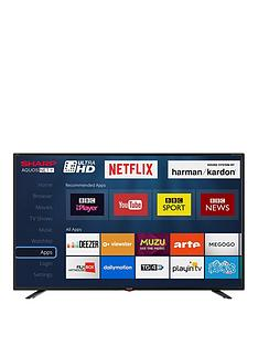 sharp-lc-40ui7352k-40-inch-ultra-hd-freeview-hd-smart-tv