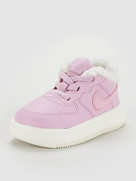 new product 1c6e9 c6409 Nike Air Force 1 18 Infant Trainer