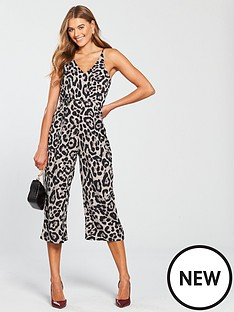 ax-paris-v-front-culotte-jumpsuit-leopard-print