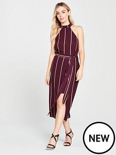ax-paris-ax-paris-petite-pin-striped-overlay-dress