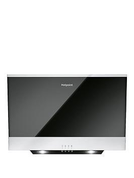 hotpoint-phvp66flmk-60cmnbspwide-cooker-hood-blackstainless-steel