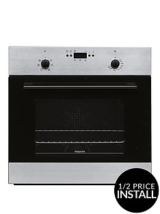 hotpoint-mmy50ix-60cmnbspsingle-electric-oven-with-optional-installation-stainless-steel
