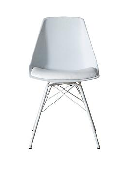 Hudson Living Hudson Living Finchley Set Of 4 Dining Chairs - White Picture